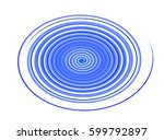 colored circles on  background... | Shutterstock . vector #599792897