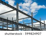 Structure Of Steel Frame For...
