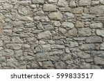 Old Granite Stone Wall Texture...