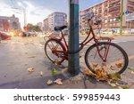 milan  italy   september 06 ... | Shutterstock . vector #599859443