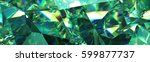 3d Render  Abstract Green...