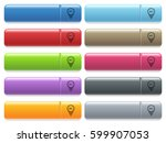 location route processing... | Shutterstock .eps vector #599907053