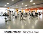 interior of a fitness hall   Shutterstock . vector #599911763