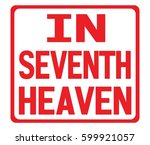 In Seventh Heaven Text  On Red...
