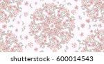 simple cute pattern in small...   Shutterstock .eps vector #600014543