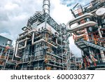 close up industrial zone the... | Shutterstock . vector #600030377