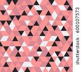 seamless pattern of geometric...   Shutterstock .eps vector #600107573