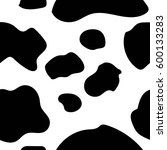 cow pattern seamless vector | Shutterstock .eps vector #600133283