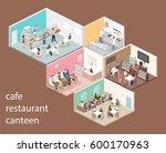 isometric flat 3d concept... | Shutterstock . vector #600170963