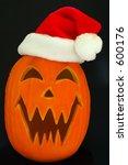 Jack O Lantern Santa