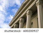 design of building in... | Shutterstock . vector #600200927