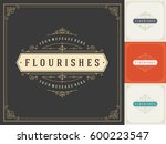 royal logo design template... | Shutterstock .eps vector #600223547