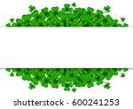 saint patricks day background... | Shutterstock . vector #600241253