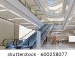 escalator and modern shopping... | Shutterstock . vector #600258077
