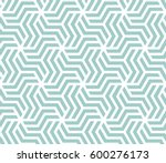 abstract geometric pattern with ... | Shutterstock .eps vector #600276173