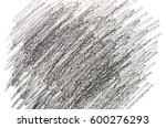 natural pencil texture. | Shutterstock . vector #600276293
