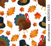 colorful cartoon seamless... | Shutterstock .eps vector #600293153