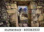 Doorway At Machu Picchu Frames...