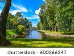 Summer Park Landscape In Saint...