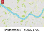vector color map of  seoul ... | Shutterstock .eps vector #600371723
