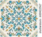 vector portuguese tile.... | Shutterstock .eps vector #600422567