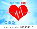 medical and healthcare concept... | Shutterstock . vector #600553613