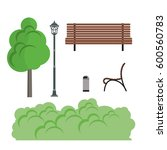 park vector illustration | Shutterstock .eps vector #600560783