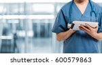 healthcare and medicine. doctor ...   Shutterstock . vector #600579863
