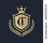 ct logo | Shutterstock .eps vector #600629213