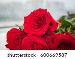 Bouquet Of Fresh Red Roses ...