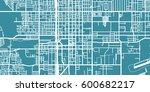 detailed vector map of san... | Shutterstock .eps vector #600682217