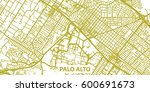 detailed vector map of palo... | Shutterstock .eps vector #600691673