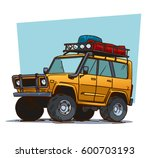 off road travel adventure.... | Shutterstock .eps vector #600703193