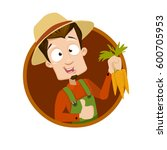 vector illustration of young... | Shutterstock .eps vector #600705953