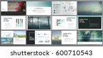 original presentation templates ... | Shutterstock .eps vector #600710543