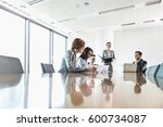cabinets in office | Shutterstock . vector #600734087