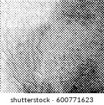 halftone abstract texture... | Shutterstock . vector #600771623