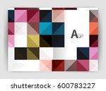 vector square minimalistic...   Shutterstock .eps vector #600783227