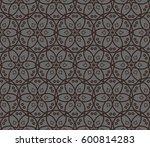 geometric shape abstract vector ... | Shutterstock .eps vector #600814283
