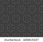 abstract repeat backdrop.... | Shutterstock .eps vector #600814337