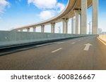 empty road surface floor with... | Shutterstock . vector #600826667