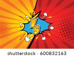 versus. vs. fight backgrounds... | Shutterstock .eps vector #600832163
