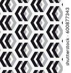 vector seamless pattern. modern ... | Shutterstock .eps vector #600877343