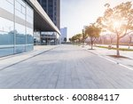 modern business office building ... | Shutterstock . vector #600884117