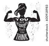 vector lettering illustration... | Shutterstock .eps vector #600918983