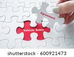 vehicle sales agreement | Shutterstock . vector #600921473