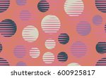 seamless pattern. halftone... | Shutterstock .eps vector #600925817
