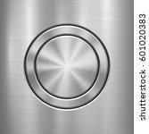 metal abstract technology... | Shutterstock .eps vector #601020383