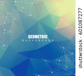 geometric abstract background... | Shutterstock .eps vector #601087277