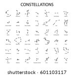 vector. constellations of the... | Shutterstock .eps vector #601103117